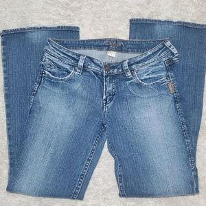 Silver Jeans Lola boot cut jeans size 30/31